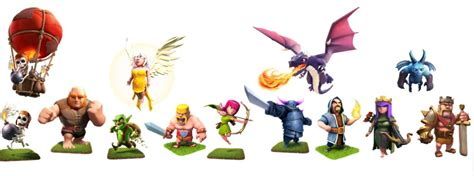 Clash Of Clans Troop Characters | showbox archives page 2 of 2 showbox apk