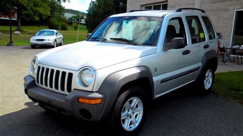 liberty jeep 2004 2004 jeep liberty sport 4wd 4dr suv 3 7l v6 at