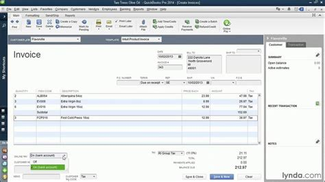 quickbooks tutorial budget quickbooks pro 2014 tutorial invoicing customers more