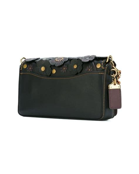 Coach Dinky Bag coach dinky crossbody bag in black lyst