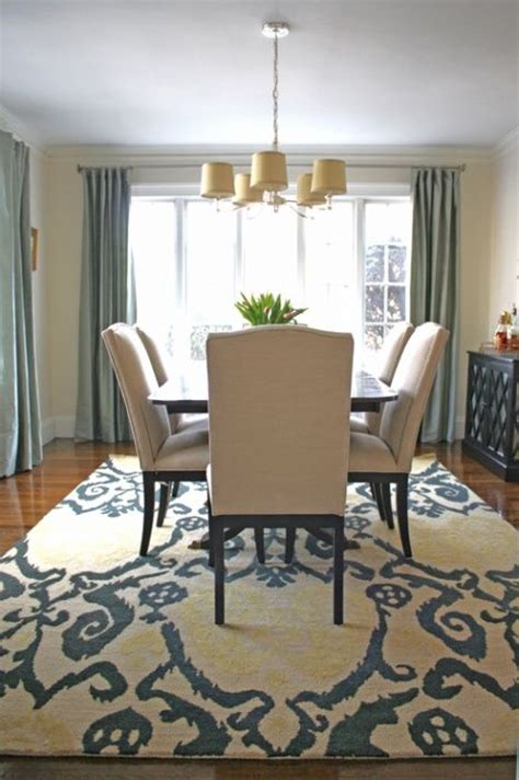 Dining Room Rug Ideas | rugs what goes where designs by katy