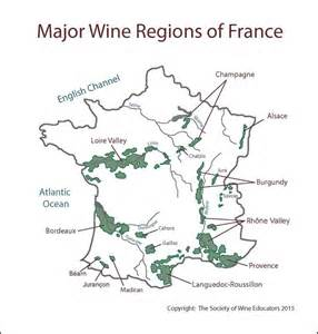 France Wine Regions Map by Swe Wine Map 2015 France Wine Wit And Wisdom