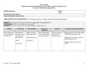 sle individual treatment plan template best photos of treatment plan goals and objectives