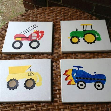 footprint crafts for pre school footprint vehicles so many projects are