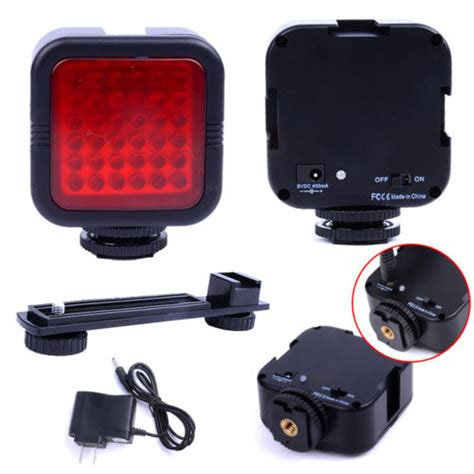 ir light for camcorder 36 led ir vision light rechargeable l for