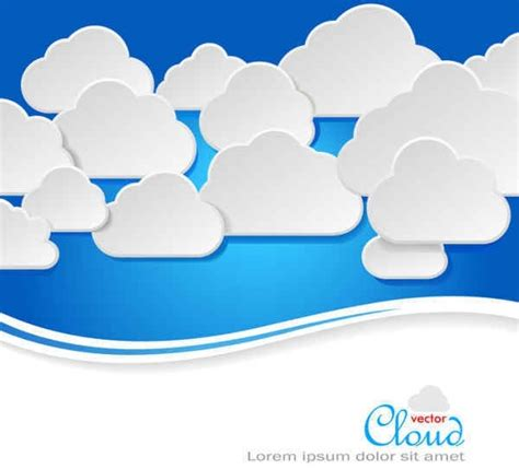 fashion cloud fashion colors clouds vector background free vector in