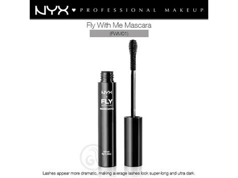 Maskara Me Nyx Professional Makeup Fly With Me Maskara Za O芻i Fwm01