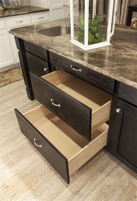 pots and pans drawer cabinet pots pans drawers in kitchen island the thoroughbred