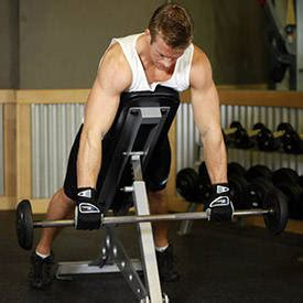 incline bench back exercises incline bench pull exercise guide and video