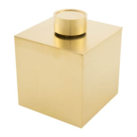 bathroom trinkets buy decor walther dw3565 trinket box with lid matt gold