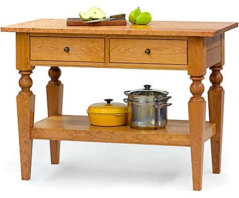 kitchen island table legs cabinet supplier finds silver lining in cloudy economy