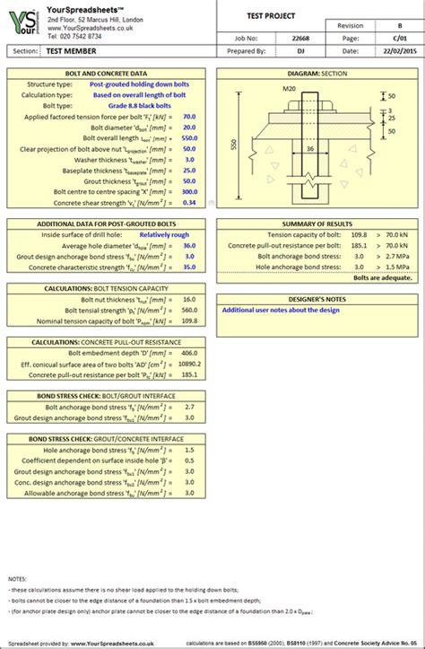 Steel Beam Design Spreadsheet by Steel Spreadsheets