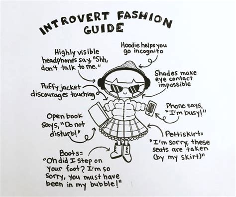 doodle password definition introvert fashion guide bored panda