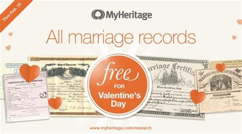 Free Access To Marriage Records Free Access To Marriage Records From Around The World Genealogy History News