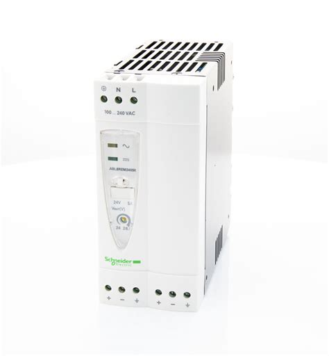 Power Supply Abl1rpm24100 Schneider abl8rem24050 schneider electric ac dc din rail power supply psu switch mode 1 output