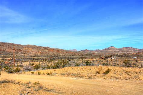 free stock photo of desert landscape at big bend national