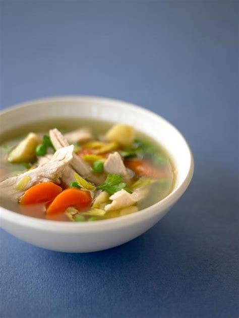 chicken broth soup recipe vegetable chicken vegetable soup chicken recipes oliver