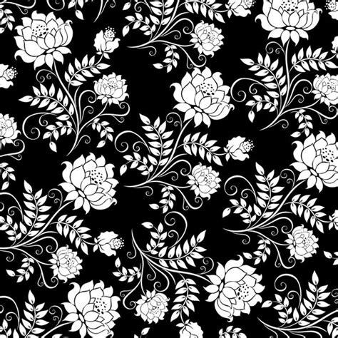 elegant wallpaper pattern black and white elegant vector background vector material my free