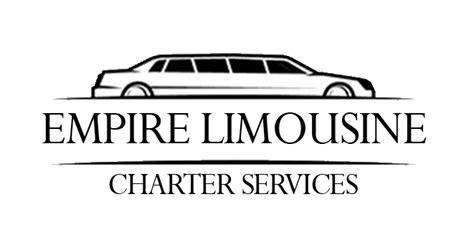 car service logo austin limo service empire limousine charter services