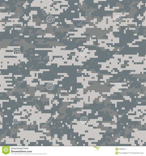 army digital pattern background digital camouflage seamless pattern stock vector image