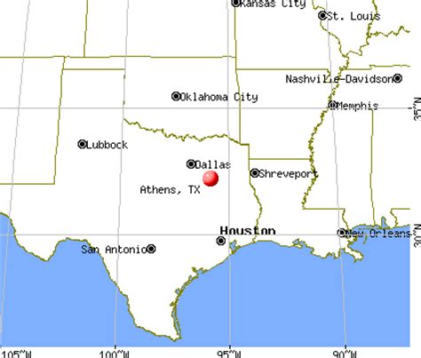 map of athens texas athens texas tx 75751 75752 profile population maps real estate averages homes