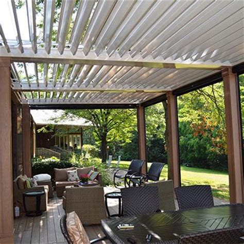 Patio Louvres by 1000 Images About Louvered Roof System Equinox Roof On