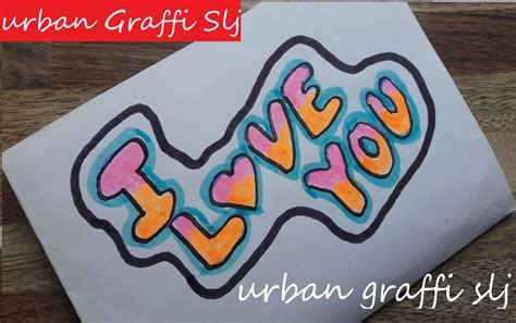 imagenes de i love you en graffiti graffitis i love you