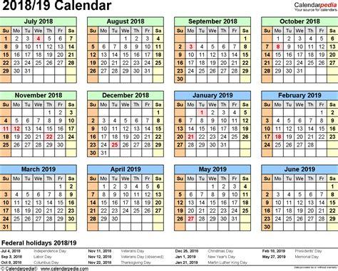 split year calendar july june excel templates