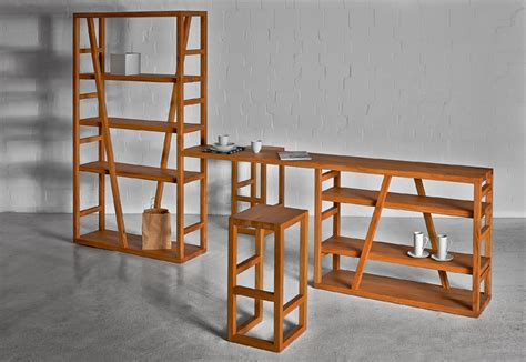 Raumteiler Regal Holz by Holzregal Fachwerk Perfekt Als Wandregal Oder Raumteiler