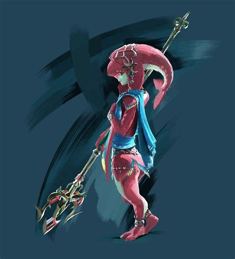 Loz Gift Small 9317 quot the legend of breath of the chion mipha quot posters by craig redbubble redbubble