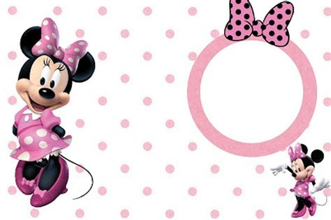 minnie mouse invitation template minnie mouse free printable invitation templates