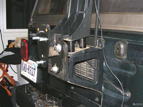 jeep jk 3rd brake light raising the third brake light on a jeep wrangler