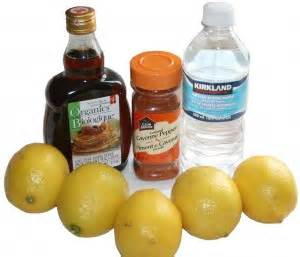 Master Cleanse Lemonade Water Detox Diet by The Master Cleanser Lemonade Diet Loraine S