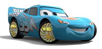 Lightning Mcqueen Blue Car