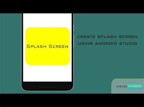 android studio tutorial splash screen create splash screen using external library android studio