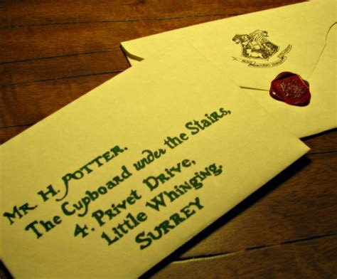 Harry Potter Custom Acceptance Letter Custom Harry Potter Hogwarts Acceptance Letter And List Of Requiremen
