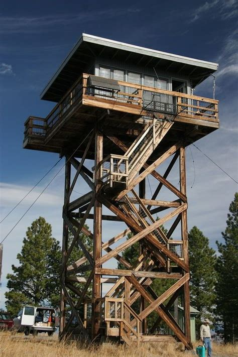 fire lookout tower plans five mile butte lookout fire tower outdoorsy escape