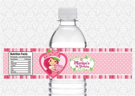 Label Segi 4 Motif Strawberry Pink 1000 images about strawberry shortcake on