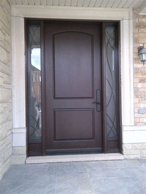 Best Fiberglass Exterior Door 17 Best Ideas About Fiberglass Entry Doors On Pinterest Entry Door With Sidelights Black