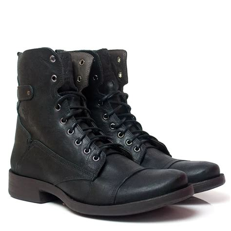 Boots Bm bota masculina black boots bm 102 preta black boots
