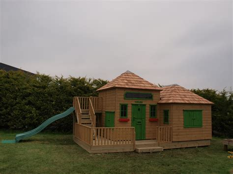 www large large childrens playhouse with slide playhouses the