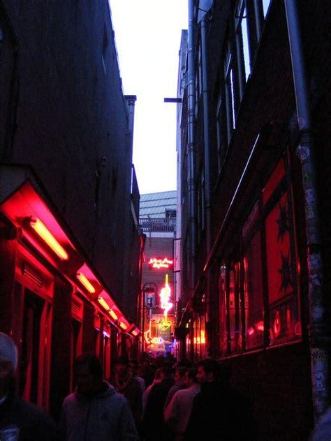 light district de wallen light district