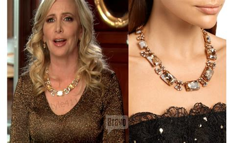 Necklace Worn By Shannon Beador On Real Housewives Of Orange County | what necklace was shannon beador wearing this season