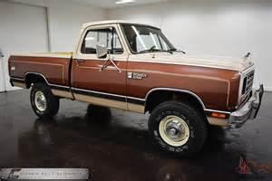 1984 Dodge Stepside 1984 Dodge D150 Stepside For Sale Autos Post