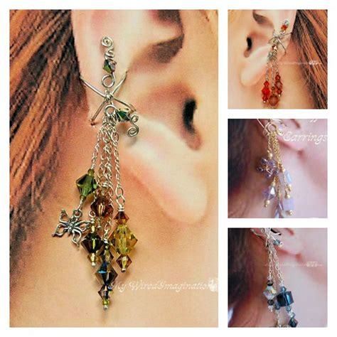 how to make ear wrap jewelry the jewelry trend learn how to make ear cuffs