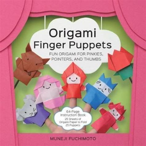Origami Finger Puppet - crafts patterns diy and handmade ideas from craftgossip