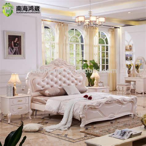 royal schlafzimmer set luxury classic king size wood mdf royal style