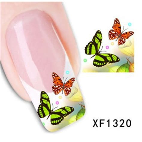 Minnie Nail Water Sticker 1 Sheet Multi Color 1 sheet water transfer nail sticker decal multi color