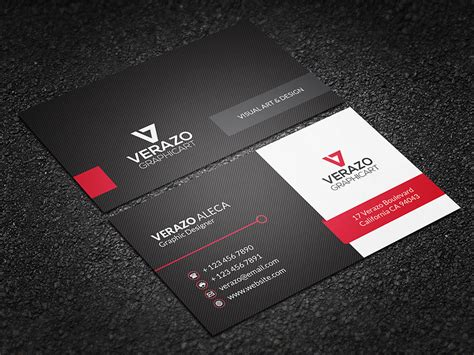 20 exles of a stylish business card photoshop template