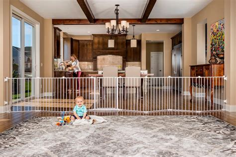 baby safety room regalo 192 inch wide gate and play yard white indoor safety gates baby